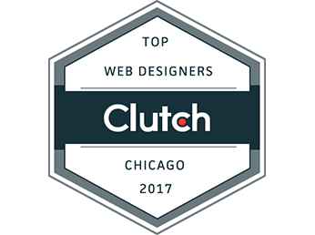 Clutch highlighting top Chicago web design companies